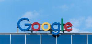 Une enseigne de Google