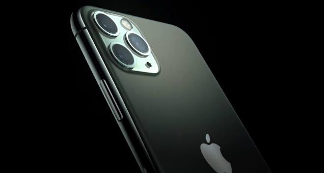L'iPhone 11, lors de la présentation du produit en septembre 2019