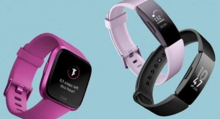 Les montres connectées de Fitbit.