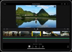 Apple a mis à jour son logiciel iMovie, qui passe en version 2.3 sur iOS et iPadOS, avec un tas de nouvelles fonctionnalités.